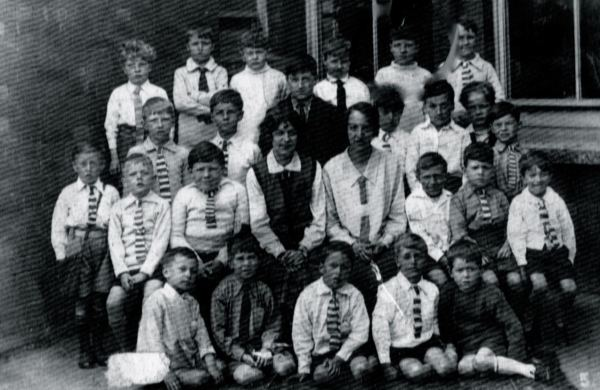 Tommy, back row, second right